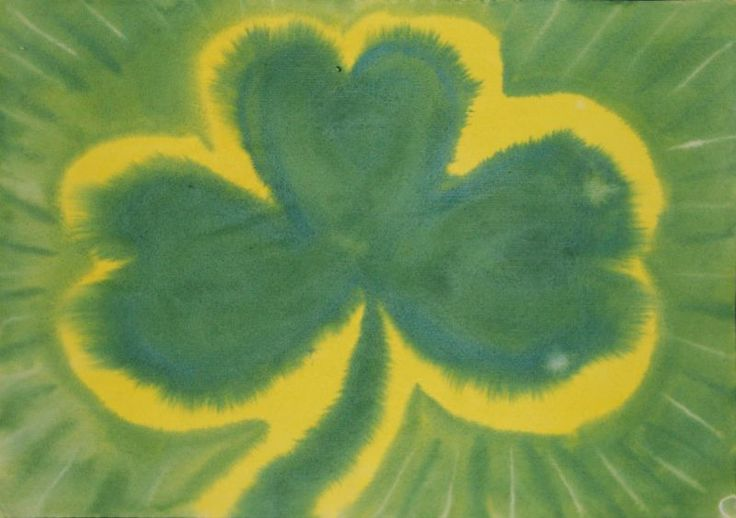 St patty's day watercolor