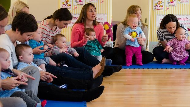 When to start taking baby to Monkey Music classes