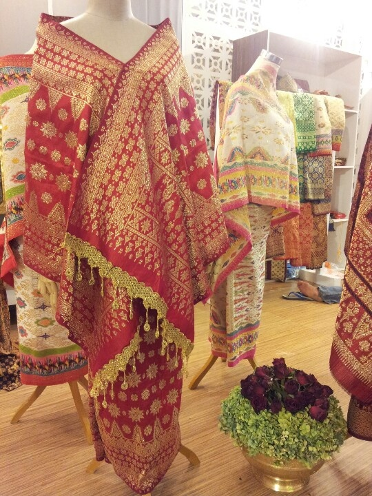Songket woven from Palembang