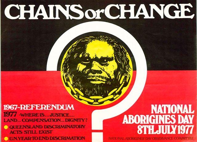 Official NAIDOC week poster 1977