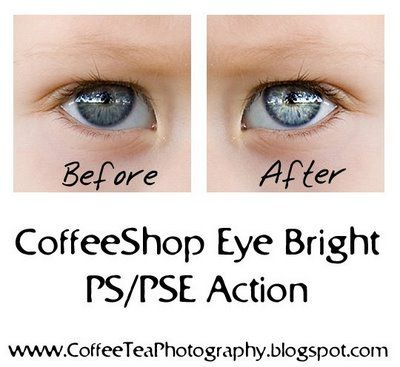 DIY Photoshop tutorial to brighten eyes
