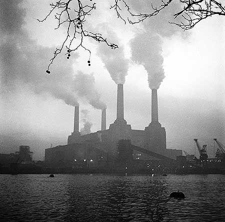 Battersea Power Station, Battersea, Greater London, c. 1960, by John Gay