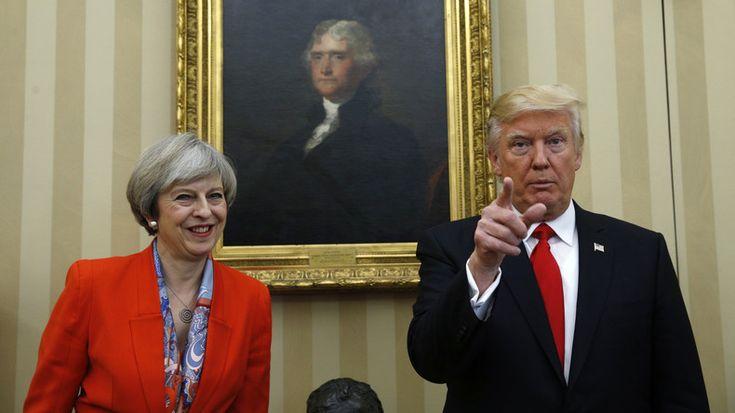 Donald Trump et Theresa May : pas de «mariage avec le diable»
