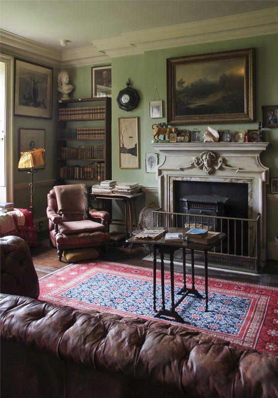 Amusing Eclectic Living Room Interiors