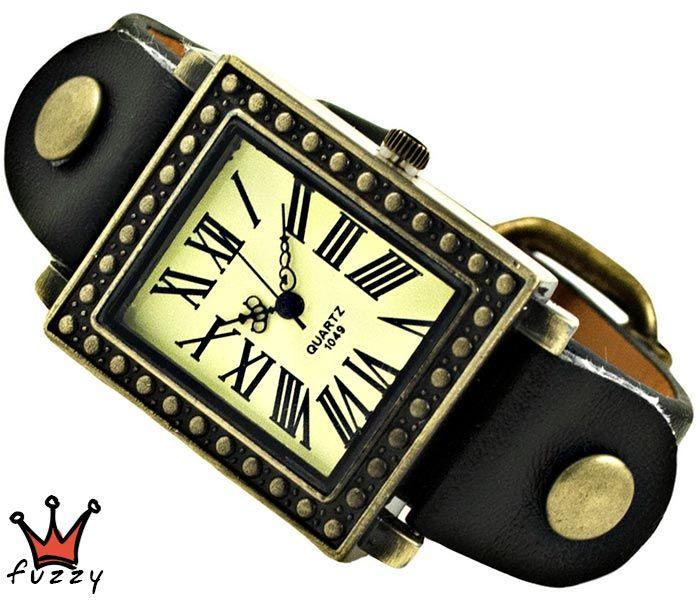 Ρολόι γυναικείο (R363-01) σε μπρονζέ και εκρού.