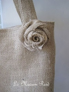 burlap bag craft ideas tutorial for burlap tote crafts and sewing projects 3481