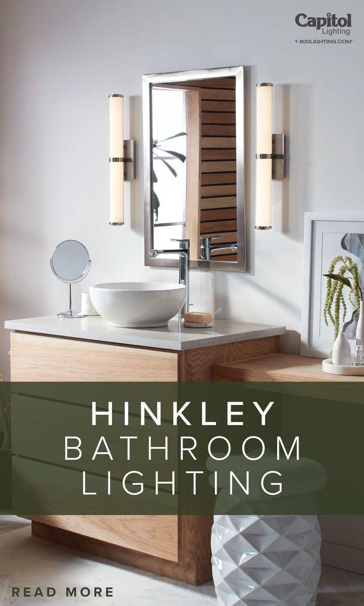 Create Your Personal Spa With Hinkley Bathroom Lighting Capitol Lighting Bathroom Lighting Bathroom Spa Bathroom