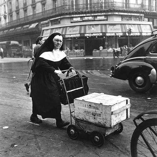Nun Paris 1950 Ed Van Der Elsken