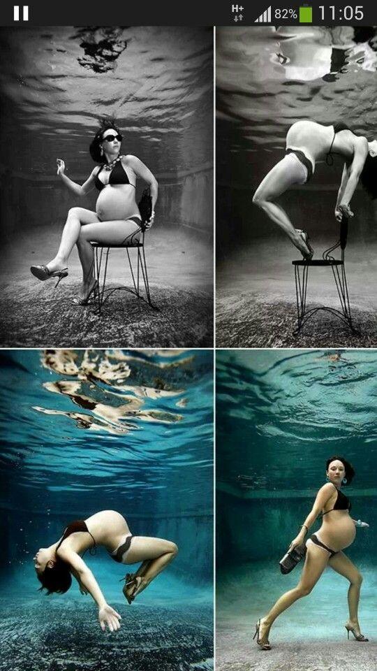 cette femme enceinte a fait un shooting photo sous l 39 eau original pregnancy. Black Bedroom Furniture Sets. Home Design Ideas