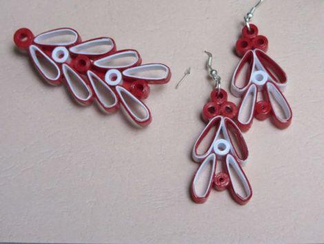 Set bijuterii quilling - donicol   Crafty
