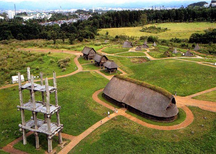 三内丸山遺跡 Sannai Maruyama Historical Site Largest settlement from Japan's ancient Jomon culture