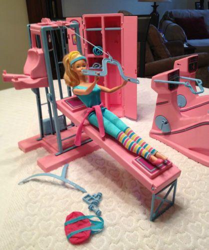 Vintage Aerobic Barbie Workout Center Play Set 1984 | eBay