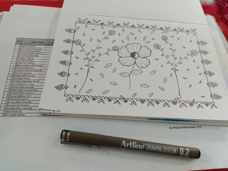 Floral design for tablecloth #floraldesign #artwork #floral