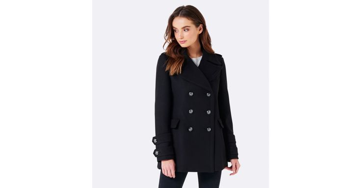 Layer up in style with our Jess coat, perfect to add a little polish to any ensemble.