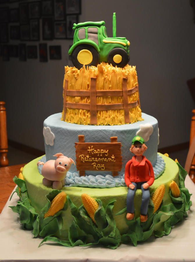 Into Farming Cakes Amp Cake Decorating Daily Inspiration
