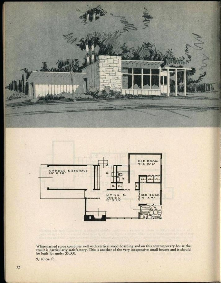 20 Great Mid Century Modern Homes Floor Plans Ideas That You Can Share With Your Friends Mi Mid Century Modern House Vintage House Plans Architecture House