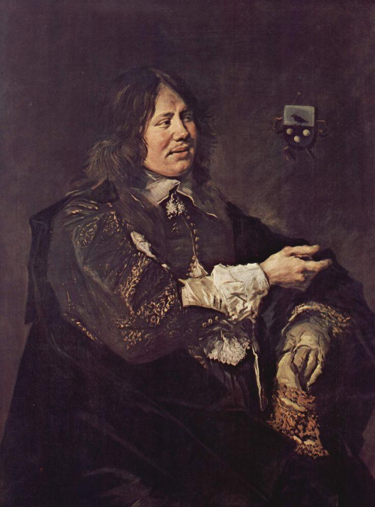 Frans Hals ~ Portret van Stephanus Geeraerdts ~ Pendant van 'Portret van Isabella Coymans' ~ ca. 1648-1650 ~ Olieverf op doek ~ 115,4 x 87,5 cm. ~ Koninklijk Museum voor Schone Kunsten, Antwerpen