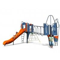 Antwerp Plus: The exciting two tower Antwerp Plus unit is highly durable, low maintenance and is designed to test a number of skills including climbing, sliding, crawling, scrambling, motor skills and social interaction. https://www.playdale.co.uk/playground/junior-play/big-city-plus/antwerp-plus.html