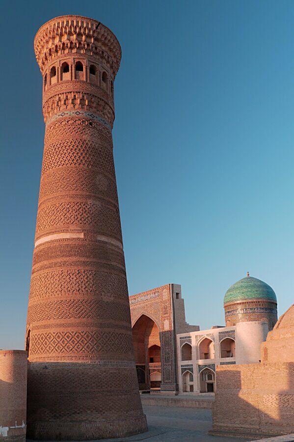 Ouzbékistan, Boukhara, minaret Kalon