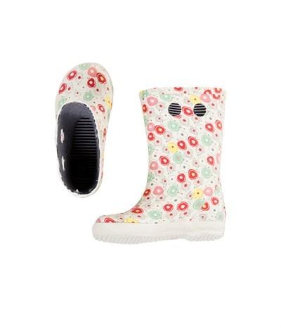 Bottes de pluie fille imprimé floral