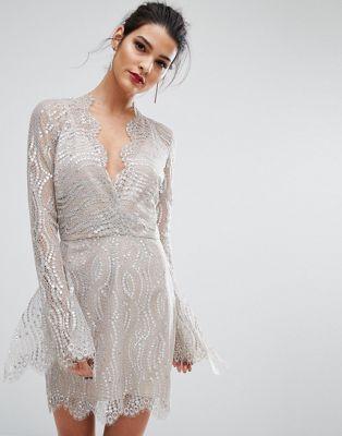 Bec & Bridge – Mirror Palace – Tief ausgeschnittenes Kleid