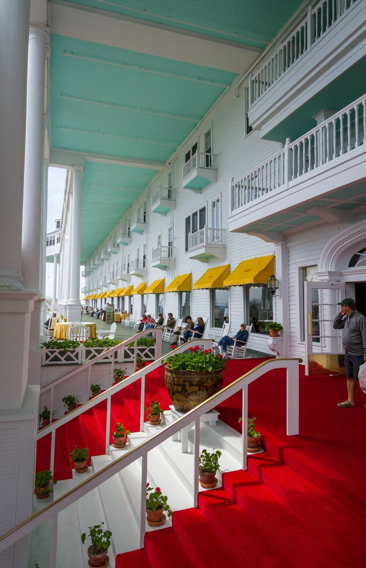 Grand Hotel Mackinac Island (With images) Grand hotel