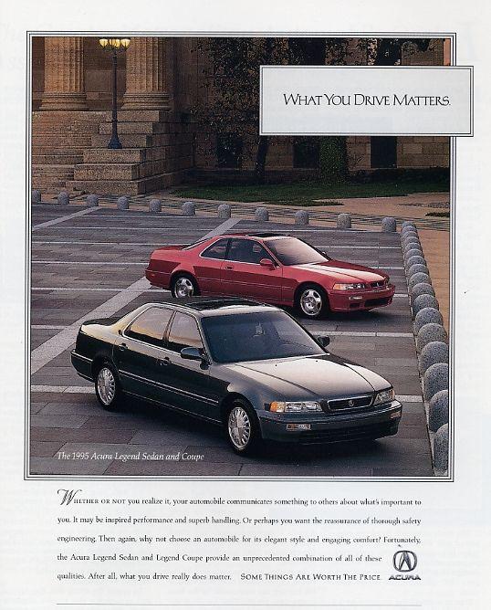 1995 Acura Legend Sedan And Coupe L Productioncars.com
