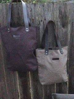 Organic Washed Cotton - Medium Plain Tote Bag