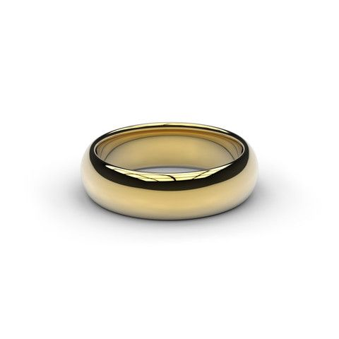 JENS HANSEN 18ct Yellow Gold The 'Little One' -  - a narrower & lighter version of the Lord of the Rings Movie Ring  Yellow Gold & Smooth Polished  Just like in the films only smaller.