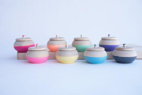 Mini-pots Trésor par Willful, boîte à bagues, fiançailles, boîte à bijoux spéciaux, fée des dents, cadeau d