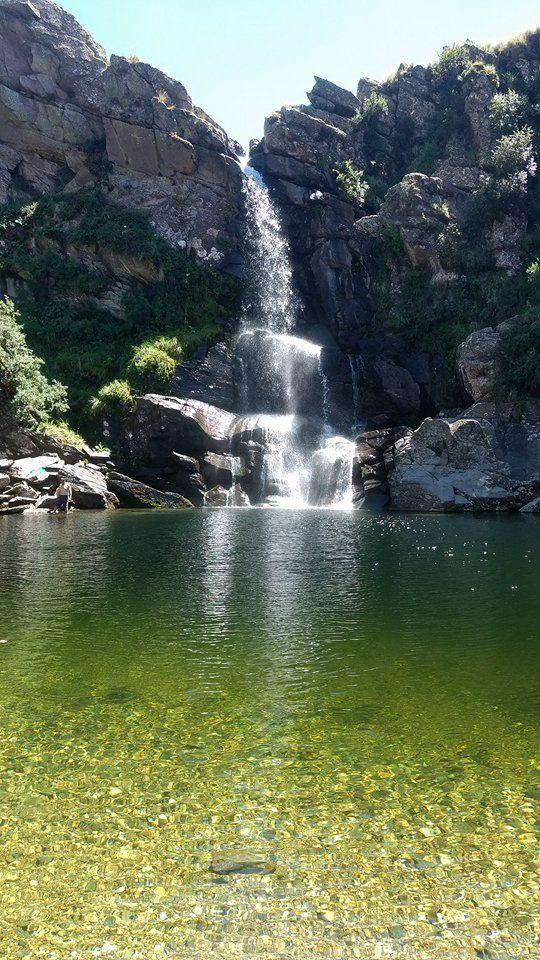 Salto del Tigre, Villa de Merlo, San Luis. Cascada de 35 mts de altura. Foto enviada por Maru Rivero.