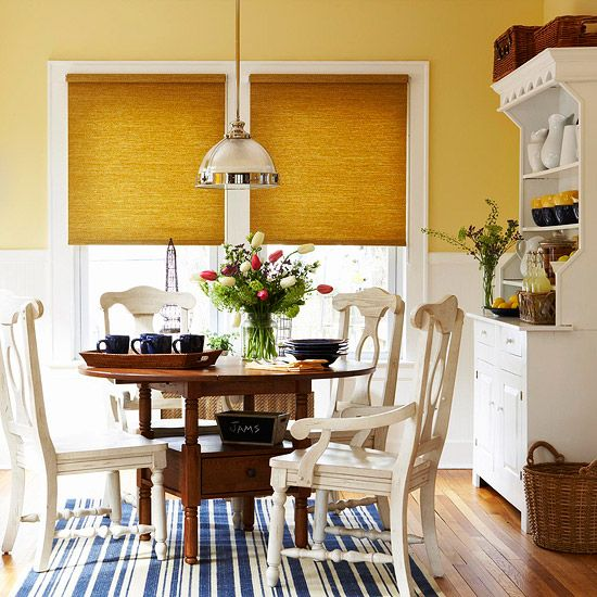 A Country Chic Breakfast Nook Makeover Room Dining Nook