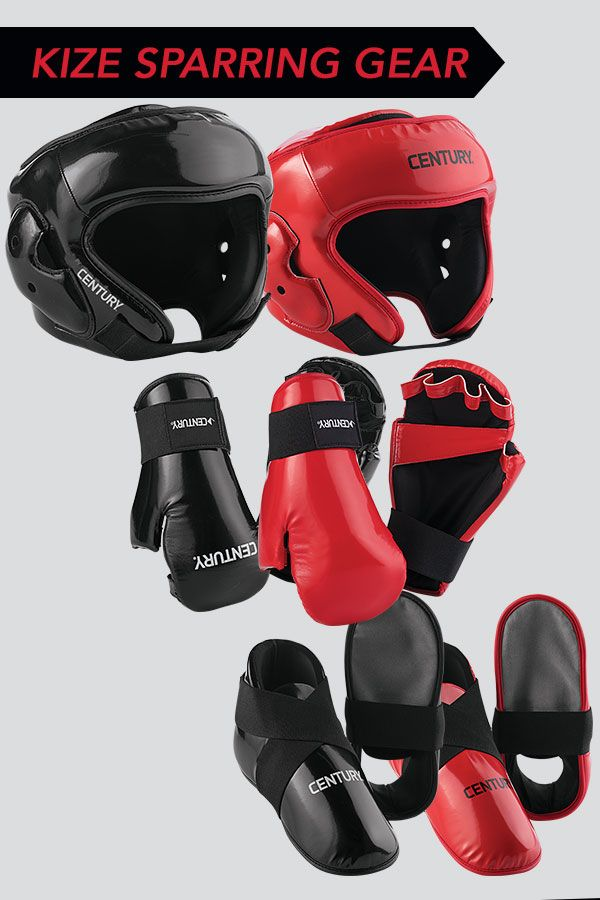 New KIZE Sparring Gear keeps you cooler with its non-absorbent, sweat resistant foam. New sewn lining adds increased durability and strength for multiple hard training sessions.