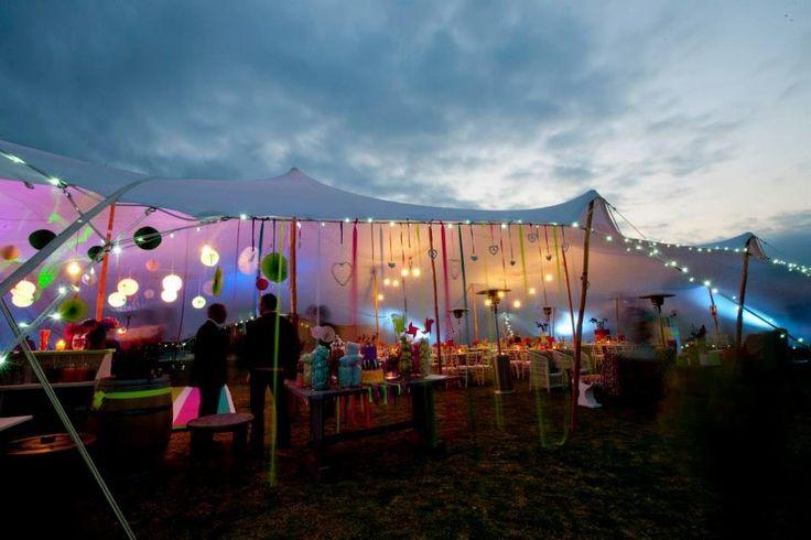 #Stretchtent #fairylights #lumo #neon www.eventsandtents.co.za