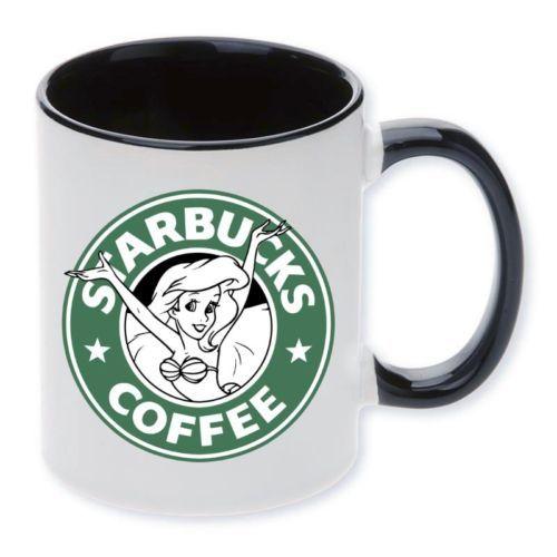 Mug-Cup-Starbucks-Princess-Coffee-Disney-I-love-coffee-Starbucks-Ariel-gift