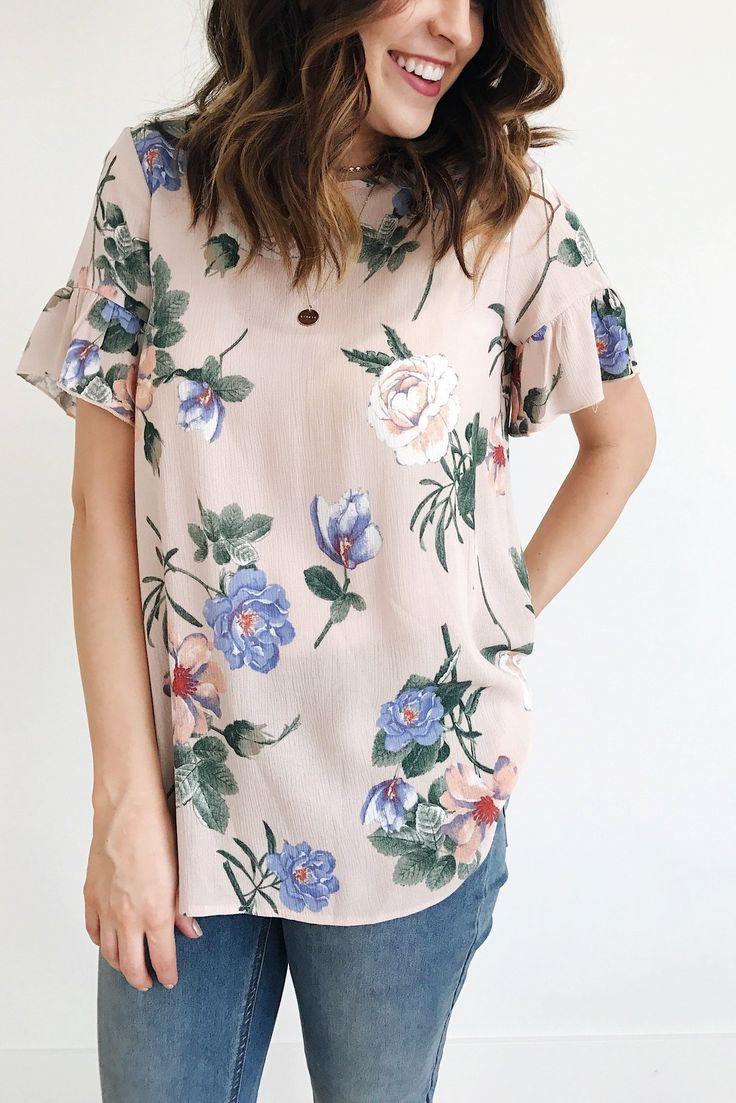 Floral Top | Roolee