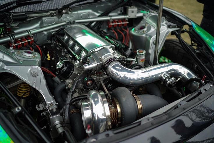 Turbo LSX454 V8 in a Nissan R35