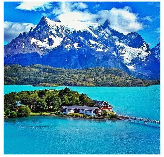Lake Pehoe- Chile