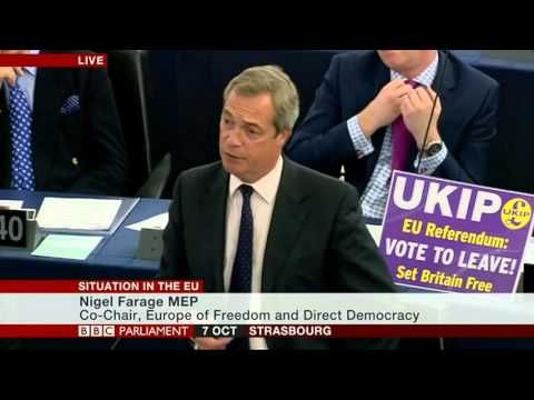 BREAKING : Nigel Farage #Brexit Will End the EU Reign Of Power Over Nati...