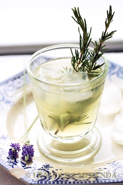 limonata al miele lavanda e rosmarino #drink