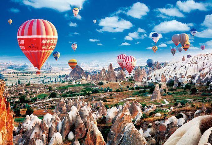 カッパドキア -世界の不思議な観光名所