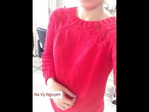 Na Vy Nguyen. Ðan móc len, Hướng dẫn đan áo len người lớn part1, mới 2015 Facebok: https://www.facebook.com/profile.php?id=100006395766677 Page Facebook: htt...