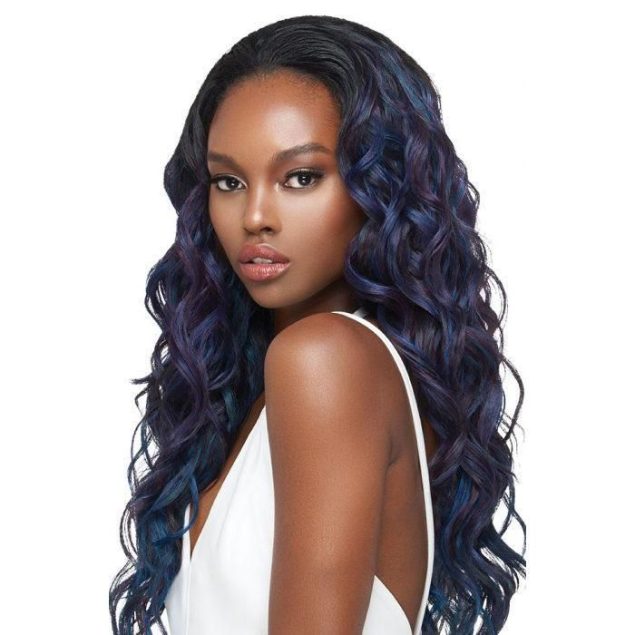Outre Synthetic Hair Quick Weave Half Wig - Melody