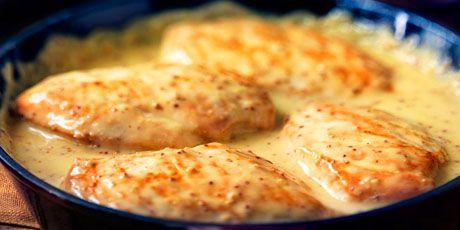 Csirkemell mézes-dijoni mártásban – 2 lépésben elkészül!