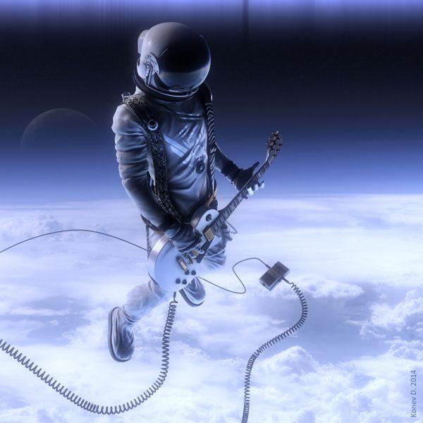 Space-rock by Konev Denis, via Behance