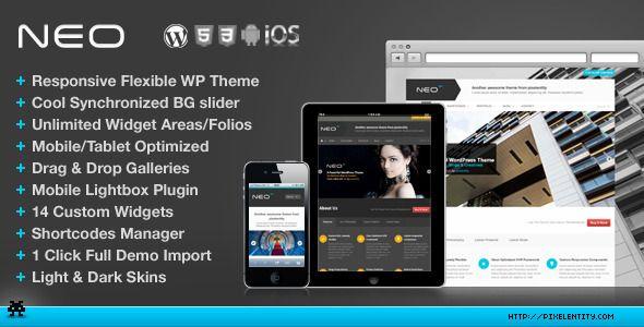 NEO Premium Responsive Business WordPress Theme