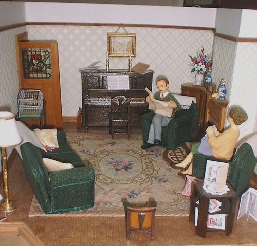 Dollhouse Miniature Roombox Sitting Room: 35 Best WW2 In Miniature Images On Pinterest
