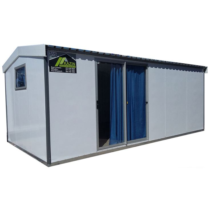 Kazin Insulated Unit 6m x 3m Suitable for Site Offices & Accommodation