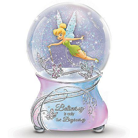 Tinker Bell's Magic Glitter Globe