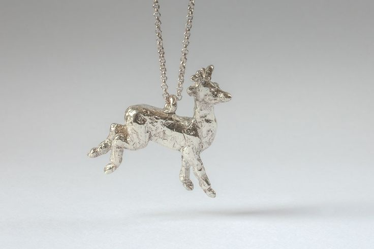 silver deer by Liplivive on Etsy